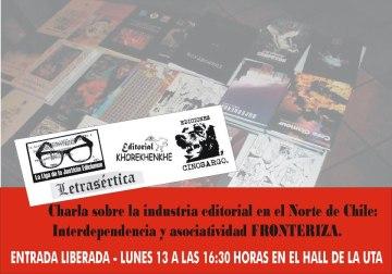 Charla Asociación de Editores de la Frontera