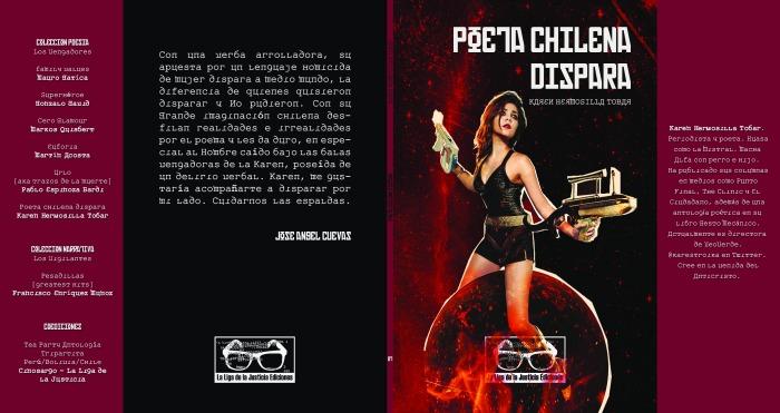 Poeta chilena dispara