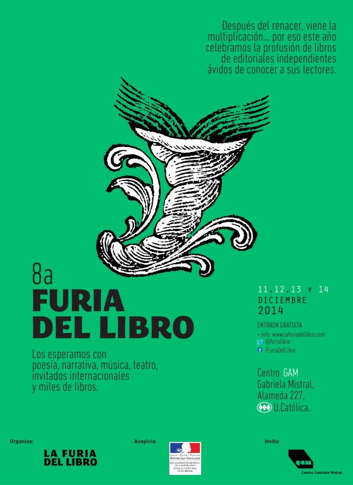 Afiche Furia del Libro 2014